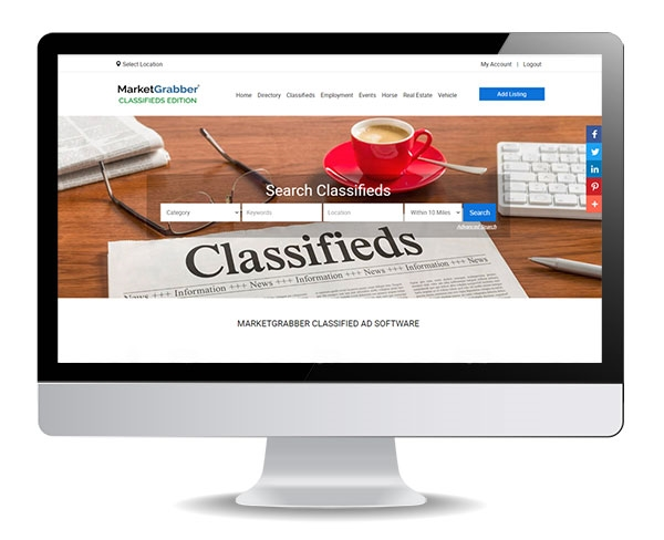 MarketGrabber Classified Ad Software