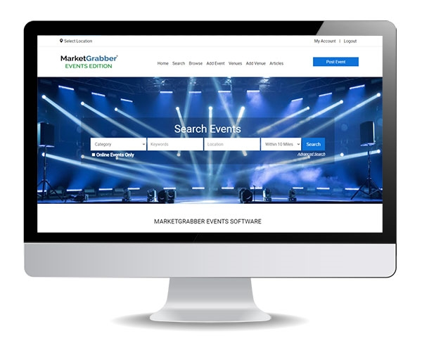 MarketGrabber Events Software