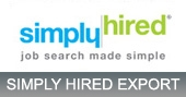 Simply Hired Export