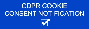 GDPR Cookie Consent Notification